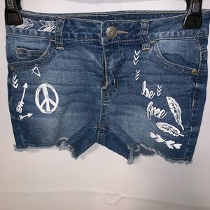Justice shorts size 12 slim